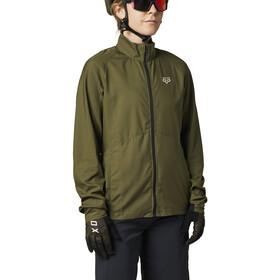 Fox Ranger Wind Jacket Women, Oliva